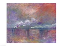 Charing Cross Bridge, Smoke in the Fog, 1902 by Claude Monet, 1902 - various sizes