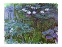 Waterlilies-17, 1914 by Claude Monet, 1914 - various sizes, FulcrumGallery.com brand