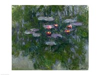 Waterlilies-19 (detail), 1916 by Claude Monet, 1916 - various sizes, FulcrumGallery.com brand