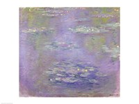 Waterlilies (purple), 1903 by Claude Monet, 1903 - various sizes, FulcrumGallery.com brand