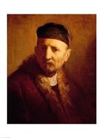 Study of a Man's Head Fine Art Print