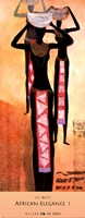 "African Elegance I by Lee White - 13"" x 32"""