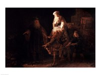 The Departure of the Shemanite Wife Fine Art Print