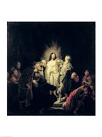 The Incredulity of St. Thomas Fine Art Print