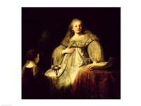 Artemisia, 1634 Fine Art Print