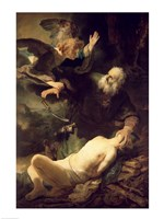 The Sacrifice of Abraham, 1635 by Rembrandt van Rijn, 1635 - various sizes, FulcrumGallery.com brand