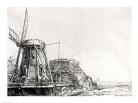 The Mill, 1641 Fine Art Print