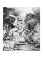 The Sacrifice of Abraham, 1645 by Rembrandt van Rijn, 1645 - various sizes, FulcrumGallery.com brand