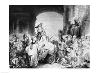 The Triumph of Mordecai, c.1640 Fine Art Print