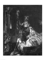 Presentation in the Temple, 1654 by Rembrandt van Rijn, 1654 - various sizes - $16.49