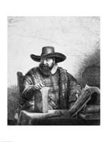 Cornelius Claesz Anslo by Rembrandt van Rijn - various sizes