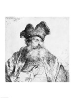 Portrait of an old man by Rembrandt van Rijn - various sizes, FulcrumGallery.com brand