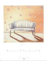 Maria's Loveseat Fine Art Print