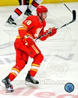 Matt Stajan 2010-11 Action Fine Art Print