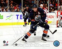 Ales Hemsky 2010-11 Action Passing Fine Art Print