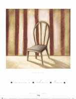 Maria's Chair 2 Fine Art Print