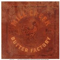 Mill Creek Butter Fine Art Print