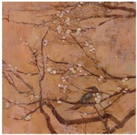 "Birds and Blossoms II by Jill Barton - 24"" x 24"""
