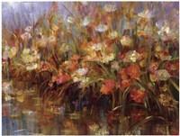 Floral Reeds Fine Art Print