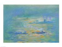 Tugboats on the River Thames Fine Art Print