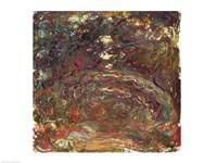 The Rose Path by Claude Monet - various sizes - $16.49