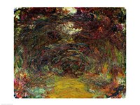 The Rose Path-22, 1920 by Claude Monet, 1920 - various sizes - $16.49