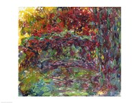 The Japanese Bridge at Giverny - abstract Fine Art Print