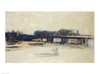 Study for Charing Cross Bridge by Claude Monet - various sizes