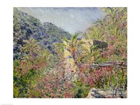 Sasso Valley. Sun Effect, 1884 by Claude Monet, 1884 - various sizes