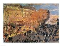 Study for 'The Boulevard des Capucines' by Claude Monet - various sizes