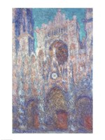 Rouen Cathedral in the Setting Sun Fine Art Print