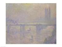 Charing Cross Bridge, 1902 by Claude Monet, 1902 - various sizes