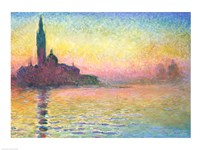 San Giorgio Maggiore by Twilight, 1908 by Claude Monet, 1908 - various sizes - $15.99