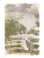 Study for the Waterlilies, 1907 by Claude Monet, 1907 - various sizes