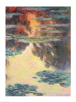 Waterlilies, 1907 by Claude Monet, 1907 - various sizes, FulcrumGallery.com brand