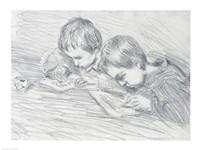 Jean-Pierre Hoschede by Claude Monet - various sizes