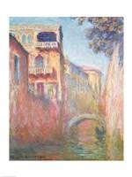 Venice - Rio de Santa Salute, 1908 Fine Art Print
