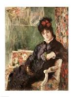 Portrait de Madame Camille Monet by Claude Monet - various sizes