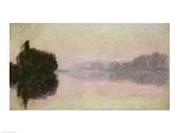 The Seine at Port-Villez, Evening Effect, 1894 by Claude Monet, 1894 - various sizes, FulcrumGallery.com brand