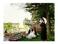 Garden House on the Zaan, Zaandam, 1871 by Claude Monet, 1871 - various sizes