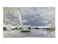 Regatta at Argenteuil, 1872 Fine Art Print