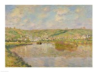 Late Afternoon, Vetheuil, 1880 Fine Art Print