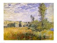 Vetheuil (field) Fine Art Print