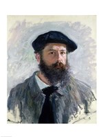 Self Portrait with a Beret, 1886 Fine Art Print