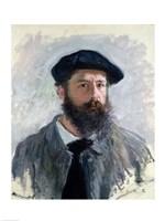 Self Portrait with a Beret, 1886 by Claude Monet, 1886 - various sizes