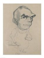 Eugene Scribe Framed Print