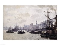 The Thames at London Fine Art Print