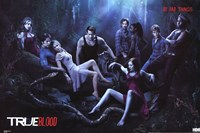 True Blood - Cast Framed Print
