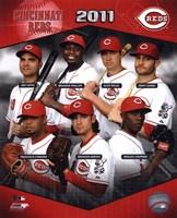 Cincinnati Reds 2011 Team Composite Fine Art Print