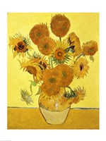 Sunflowers, 1888 yellow Fine Art Print